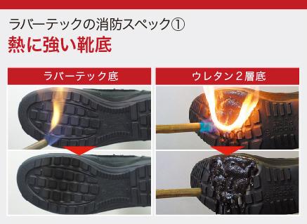熱に強い靴底